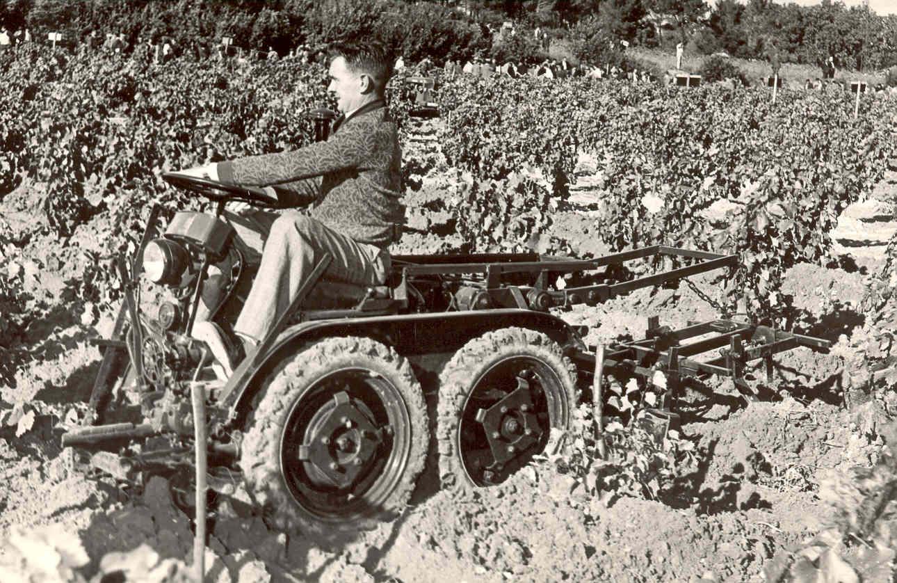le tracteur vigneron vidal